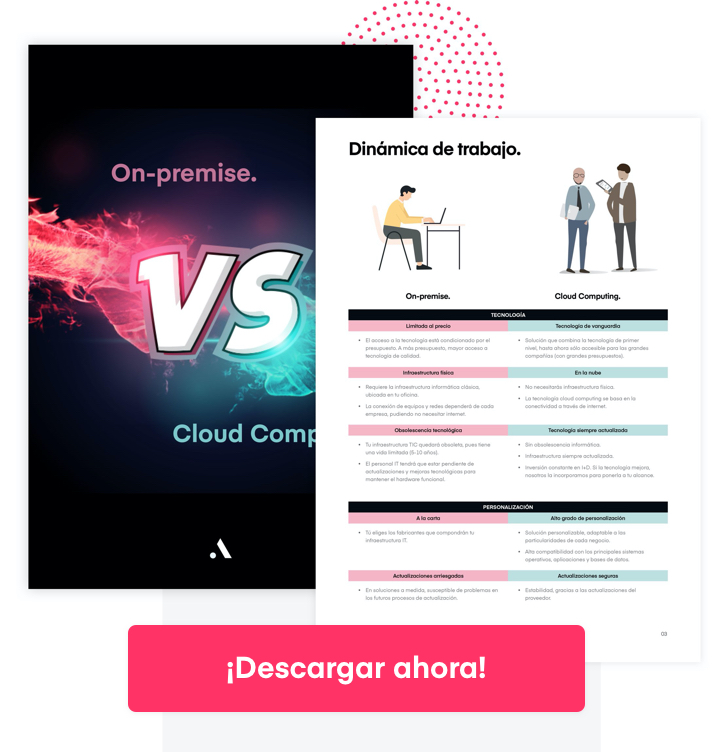 Informática on-premise vs Cloud Computing