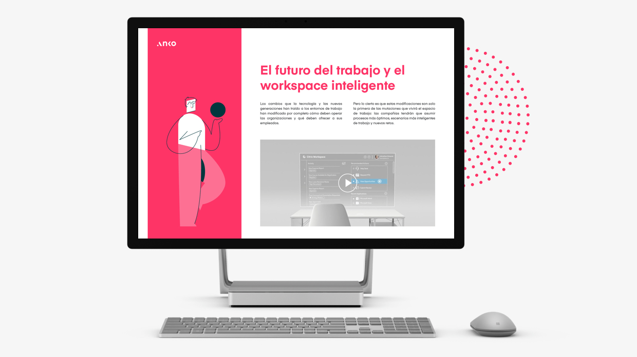La transformación del espacio de trabajo: escritorio virtual, digital workplace y teletrabajo
